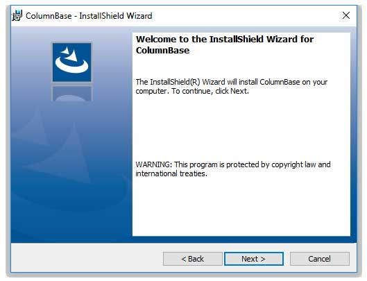 How to Install ColumnBase Software? - PCEESoft Inc